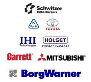 Reconditionari / reparatii turbine - Garrett, KKK, Borg Warner, Mitsubishi, Toyota, IHI, Holset, Schwitzer
